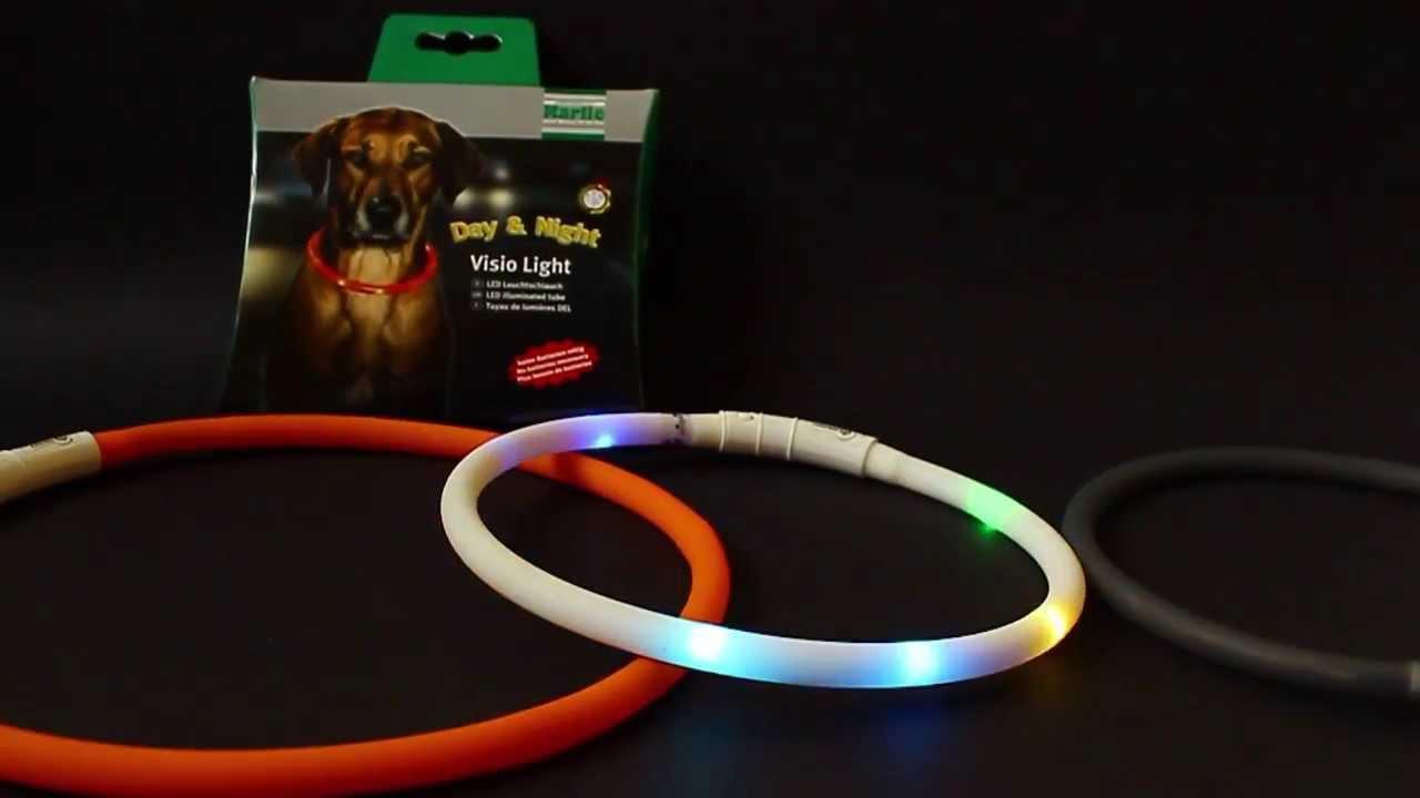 Visio Light - LED Halsband von Karlie Flamingo - YouTube