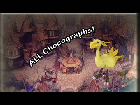 Final Fantasy IX | Complete Chocograph Guide -- All Treasures