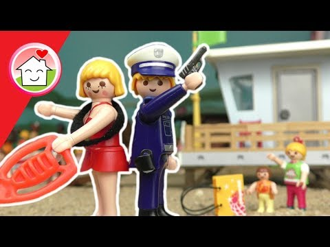 Playmobil Film deutsch - Diebe am Strand -  Baywatch Geschichten für Kinder - Family Stories