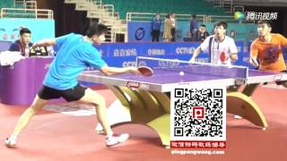 Forehand Flick Slow Motion Table Tennis Ma Long