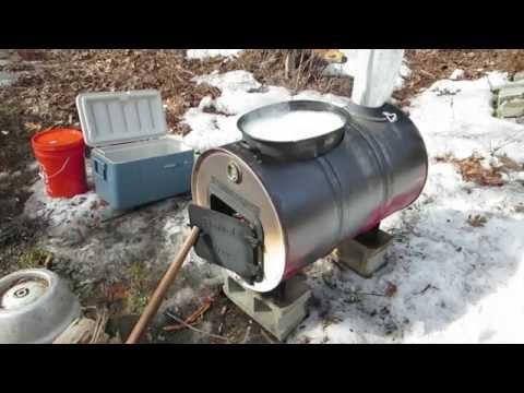 how to make a barrel evaporator