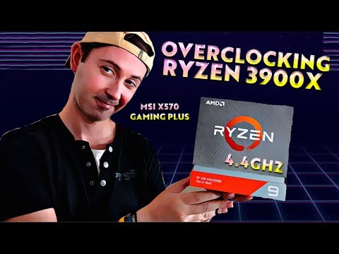 Guia OVERCLOCK Ryzen 3900X 4.4 GHZ Con Placa Base MSI X570 Gaming Plus