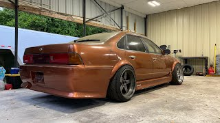 Turbo K24 Nissan Cefiro build. Building an over-elaborate exhaust