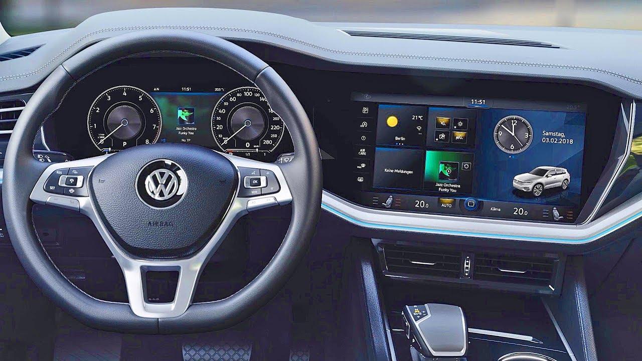 volkswagen touareg 2019 innovision cockpit youtube