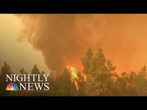 Portugal Forest Fires: At Least 61 Dead In Nation's Worst Fire In Decades | NBC Nightly News