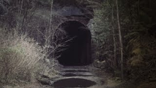 Abandoned Train Tunnel (We Were Being Followed)