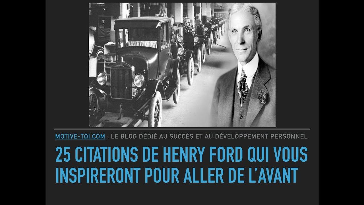 25 Citations De Henry Ford Qui Vous Inspireront Pour Aller
