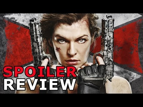 RESIDENT EVIL: THE FINAL CHAPTER (2017) Review SPOILERS