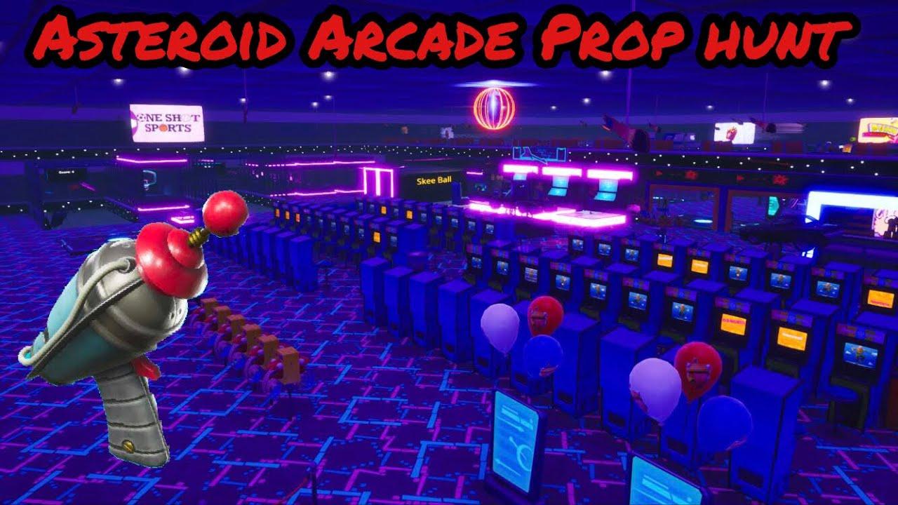 Asteroid Arcade [Prop Hunt] - Fortnite Creative - Fortnite