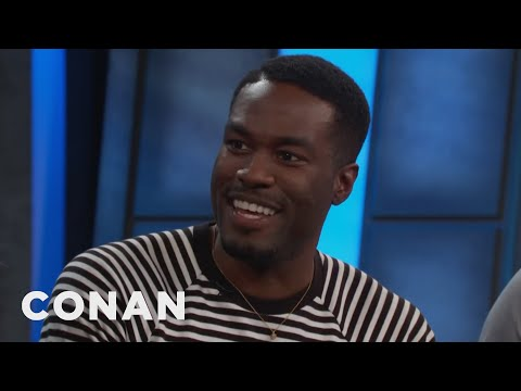 "Yahya Abdul-Mateen II Taught Himself How To Swim For ""Aquaman""  - CONAN on TBS"