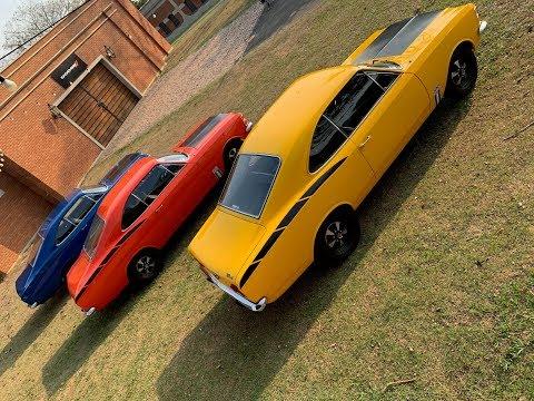 Chevrolet Opala SS 1975 - SS4 e SS6 tigrados