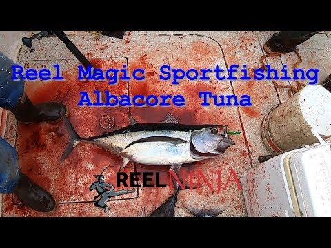 Reel Magic Sportfishing - Albacore Tuna - Reel Ninja - Full Length