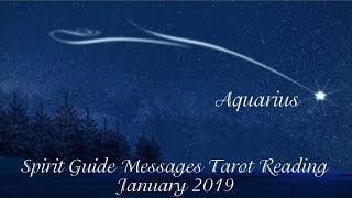 Aquarius *You cannot waver!* ~ January 2019