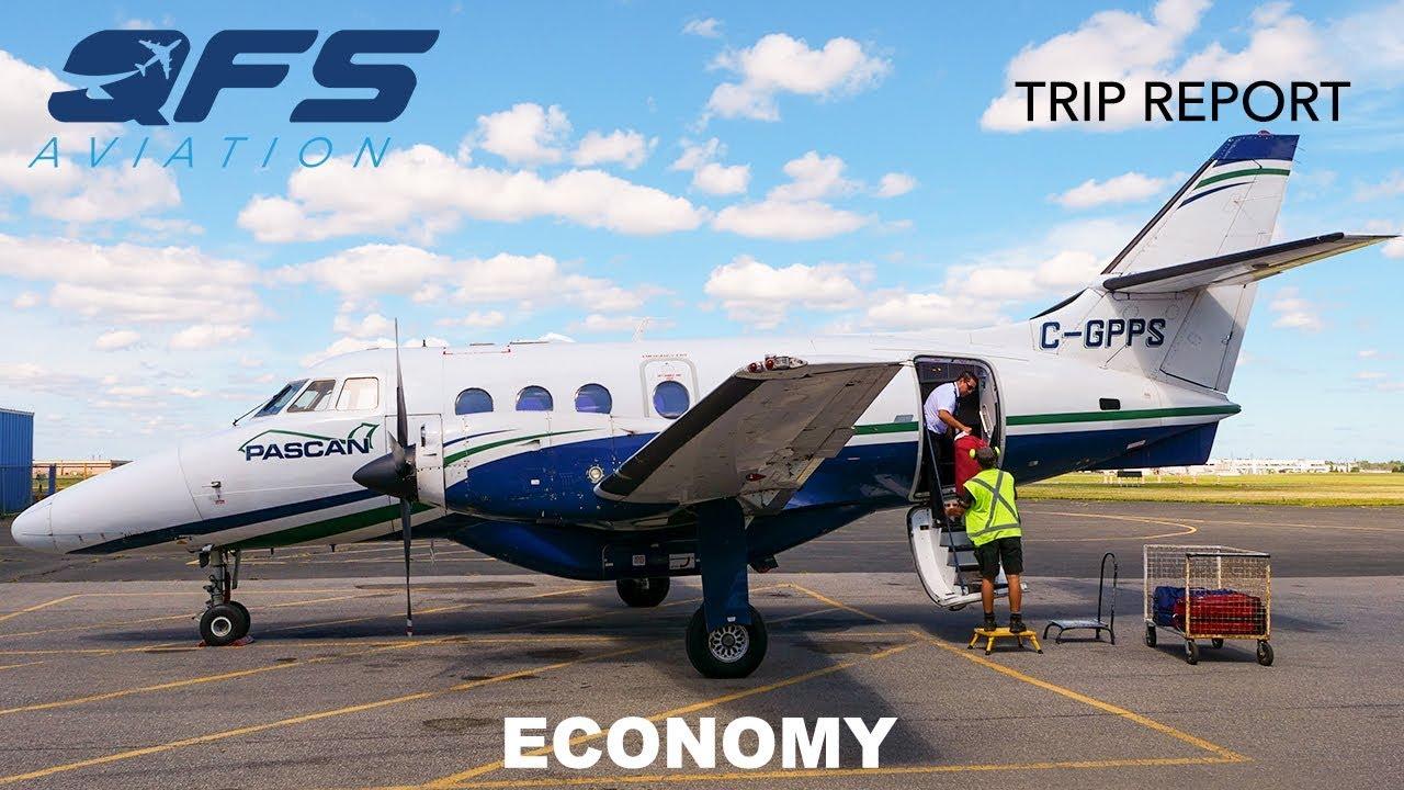 Download TRIP REPORT   Pascan Aviation - BAe Jetstream 32 - Québec City (YQB) to Saint-Hubert (YHU)   Economy