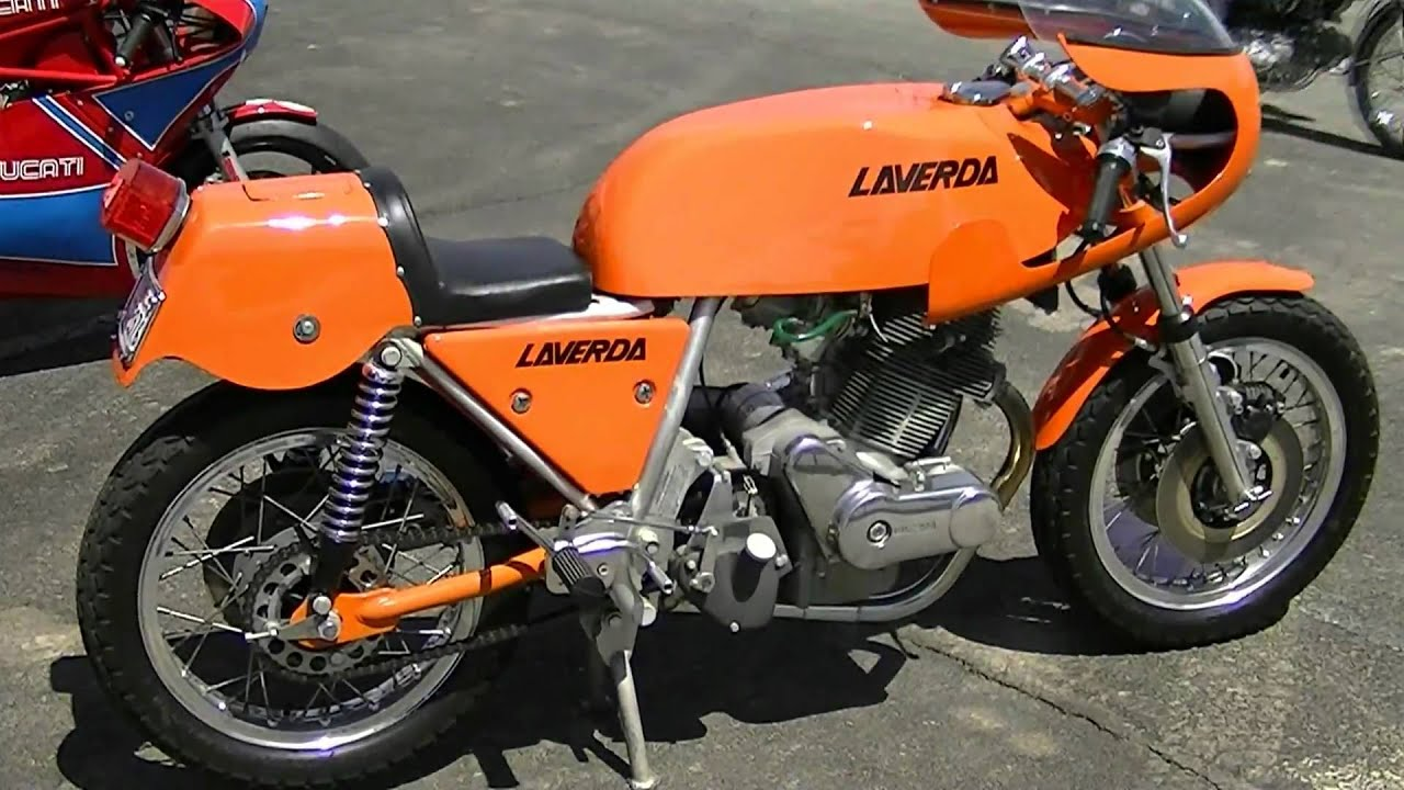 Rare 1974 Laverda 750 SFC Motorcycle - YouTube