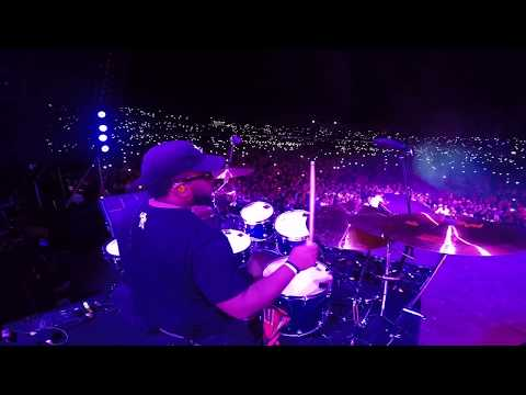 MARCUS THOMAS IN CALI, COLOMBIA WITH J BALVIN