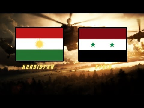 Kurdistan vs Syria-Military Power Comparison 2018