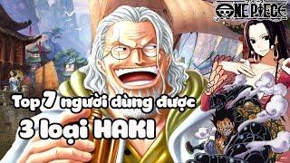 Lù Gaming Top 7 Người Dùng Được 3 Loại Haki Trong One Piece