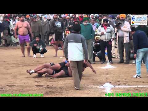 PHALLEWAL (Ludhiana) Kabaddi Cup - 2014 18th January Part 2nd