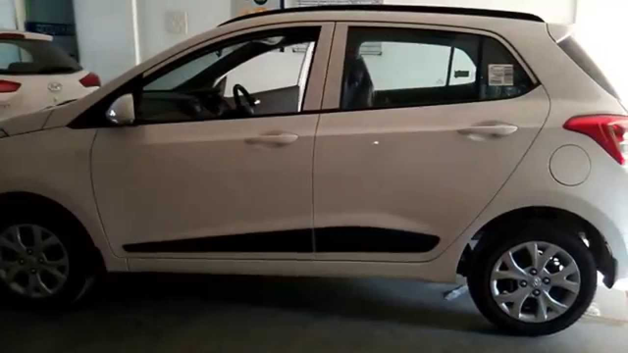 hyundai grand i10 sportz 2015 at showroom colours youtube. Black Bedroom Furniture Sets. Home Design Ideas