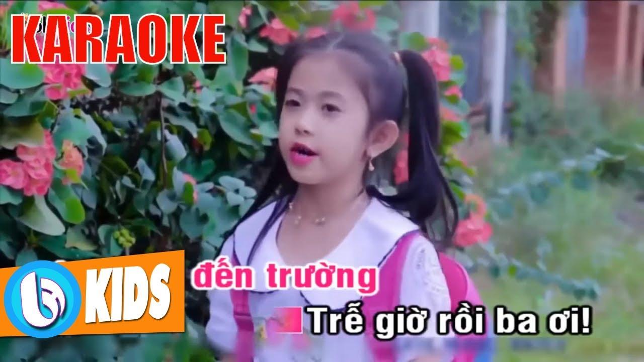 Tải karaoke [karaoke] ngày đầu đi học nhạc thiếu nhi beat mp3.