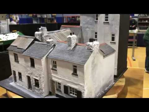 Wonderfully Detailed Scale Model Buildings