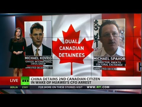 Another Canadian arrested in China