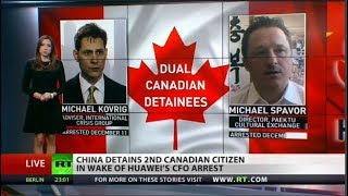 Another Canadian arrested in China...