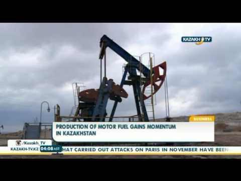 Production of motor fuel gains momentum in Kazakhstan - Kazakh TV
