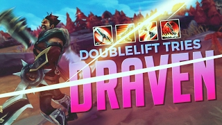 Doublelift- Destroying with DRAVEN