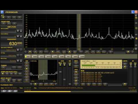 Good signal! 630kHz ABC Local Radio Queensland from Australia. Received in JAPAN