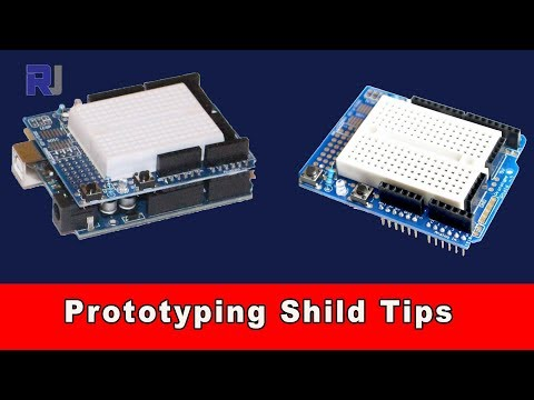 How To Use Prototyping Shield For Arduino