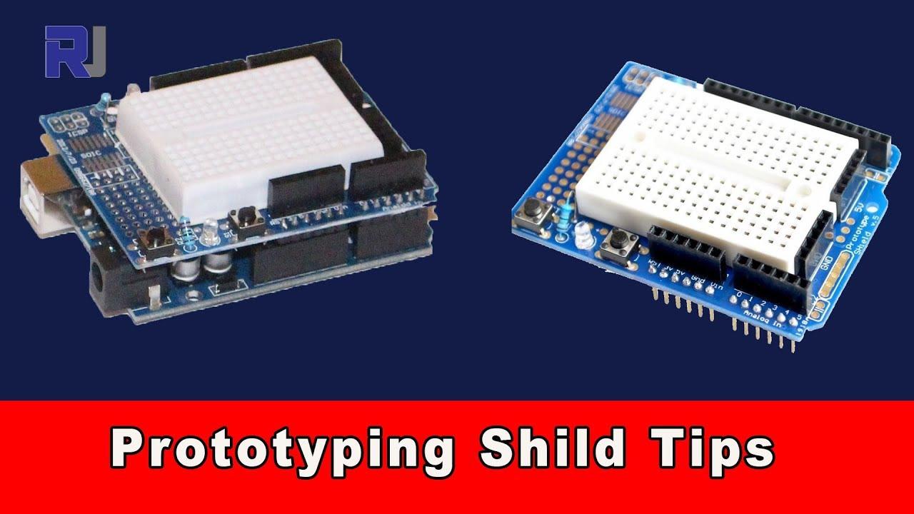 Prototipos Shield para Arduino onu r3