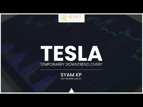 Gulf Brokers | SYAM KP review | Tesla stock summary: falls, struggles and opportunities