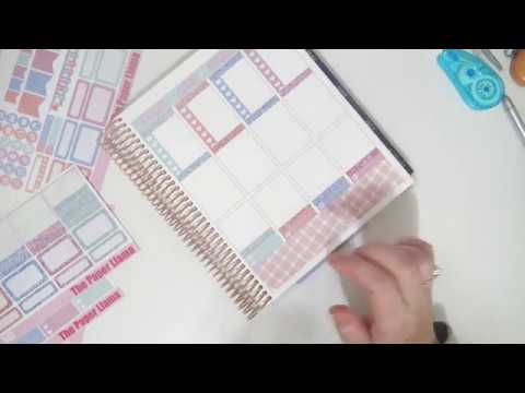 Plan With Me - Soft Spring Mini Kit (The Paper Llama)