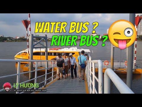 BẬT MÍ WATER BUS HAY RIVER BUS TỪ NÀO CHUẨN HƠN? | Guide Saigon Food