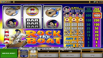 All Slots Casino's Rock the Boat Classic Slots