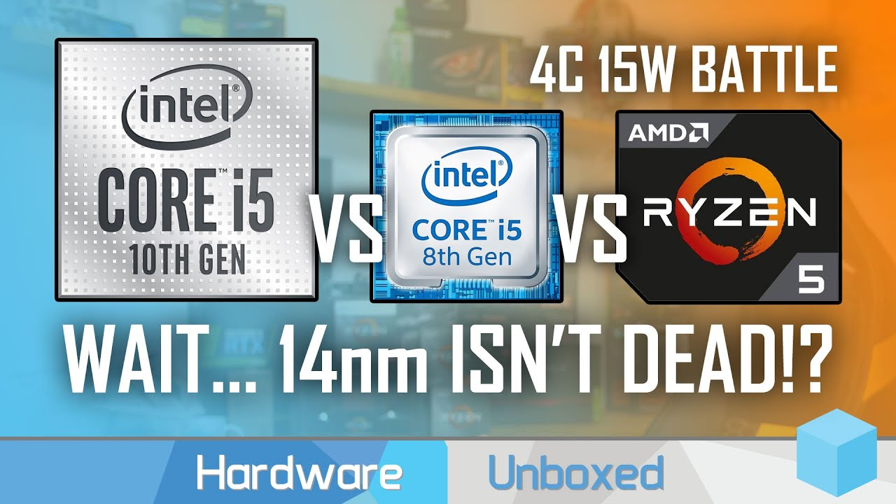 Intel Core I5 10210u Benchmarked Shock 14nm Gains Against Ryzen And 8th Gen Youtube