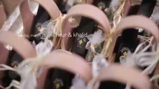 Nur + Khaled | Akad Nikah Highlight
