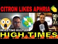 Citron Research gives Aphria (NYSE: APHA) a $10 price target, High Times on RICH TV LIVE