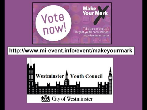 Make Your Mark 2017 Westminster Youth Council
