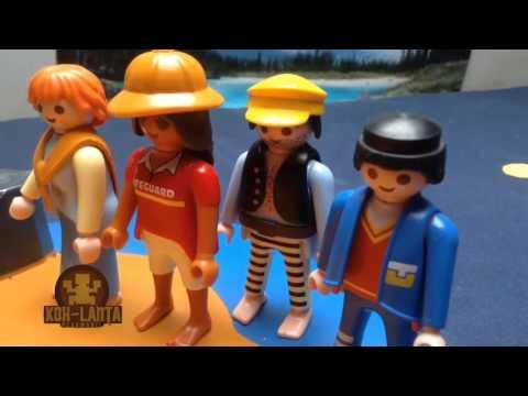 koh lanta playmobil - épisode 3