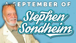 By the blue purple yellow red water – A September of Sondheim (Vlog #17)