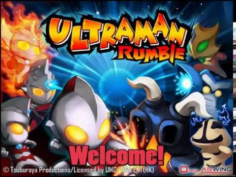 CTed Plays: Ultraman Games   Ultraman Rumble 1 & 2 - Mobile Ultraman!