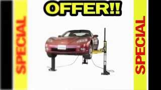 Best Buy Free Shipping  Dannmar Maxjax Portable Auto Lift - 2-post System, Mid-rise