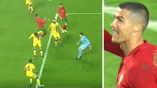 Роналду хотел забить в НЕРЕАЛЬНОМ ПРЫЖКЕ но вот чем всё закончилось Португалия Андорра 7 0