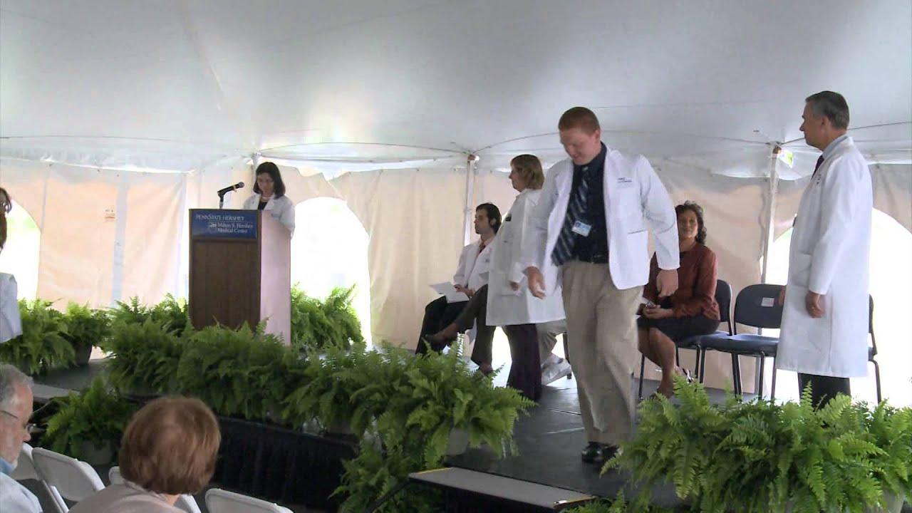 PA Program White Coat Ceremony 2014 Penn State College of