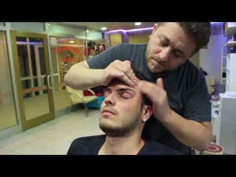 ASMR Turkish Barber Face,Head and Body Massage 120 16 Mins 💆♂️👍👍💈