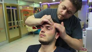 Download ASMR Turkish Barber Face,Head and Body Massage 120 (16 Mins) 💆♂️👍👍💈 Mp3 and Videos