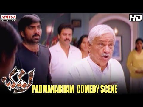 Padmanabham Drinking Comedy Scene In Bhadra Movie - Padmanabha Ravi Teja